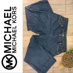 Michael Kors Dark Wash Denim Jean Pants